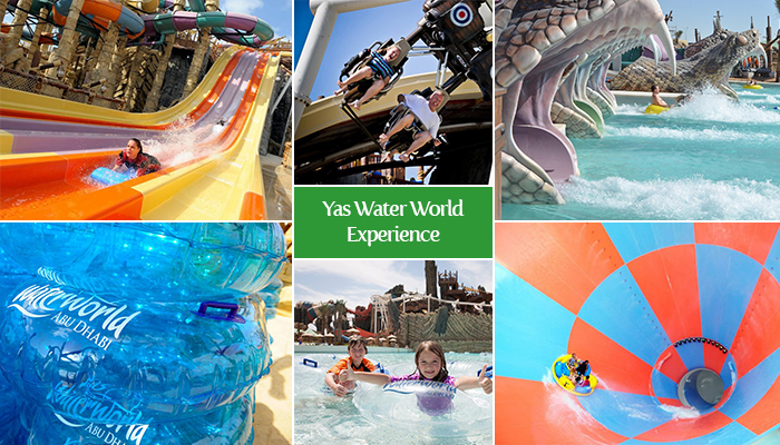 Yas Water World Experience