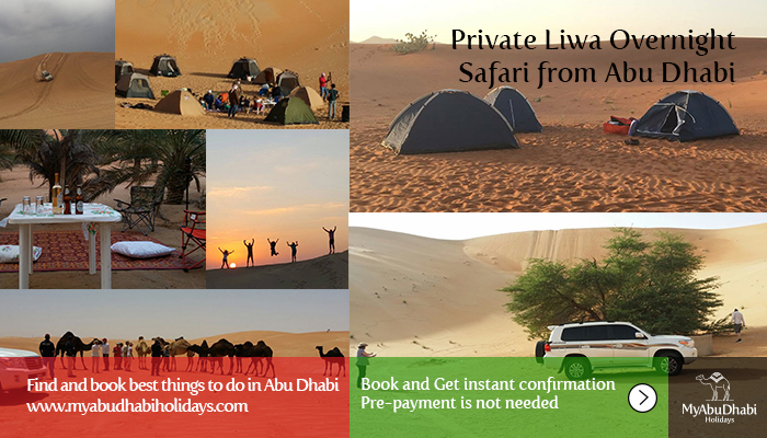 Private Liwa Overnight Safari from Abu Dhabi