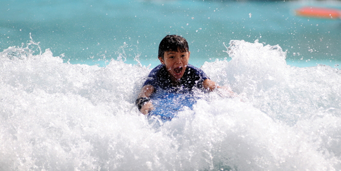 Learn to Surf for one Wadi Adventure from Abu Dhabi