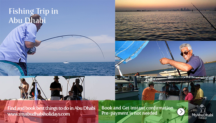 Fishing Trip in Abu Dhabi